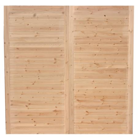 Corton Horizontal Garage Doors Front