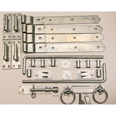 Double Gate Hinge Kit Galv