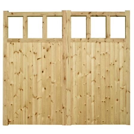 Shepton Garge Doors Front