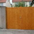 Wanstrow finshed driveway gates