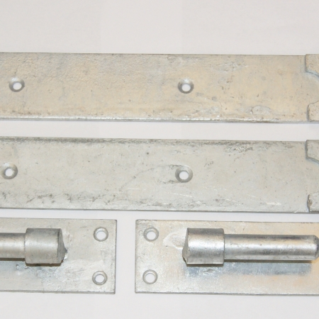 Cranked Hook and Band Hinges