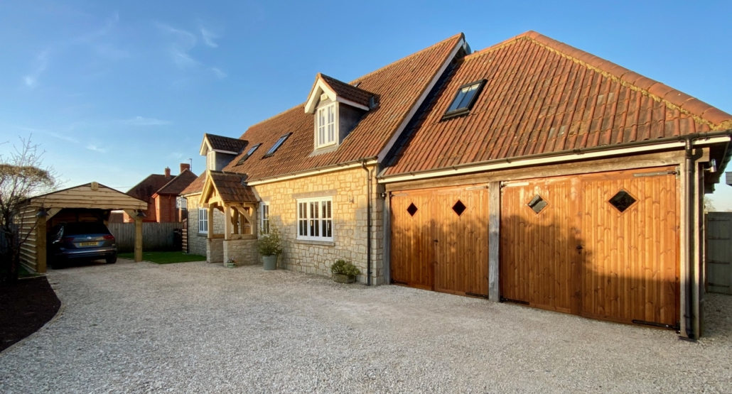 Noble Garage Doors in Thermowood